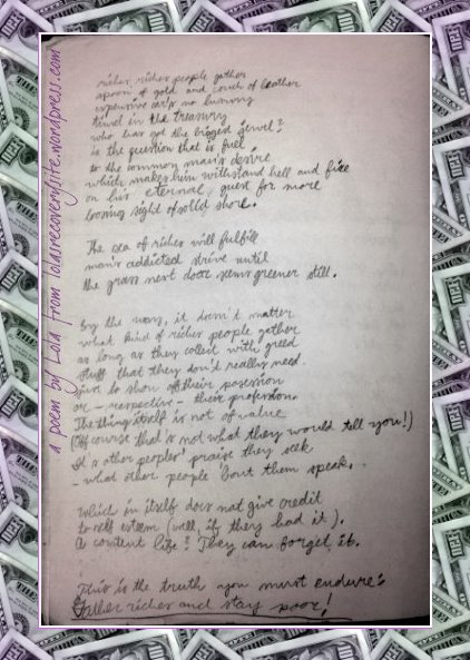 Riches,Riches poem1